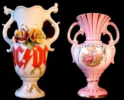 Heavy Metal Vases Figuratively Speaking Steel Aluminum Copper