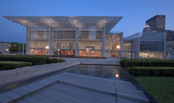 the art of aluminum and steel in architect renzo piano designed