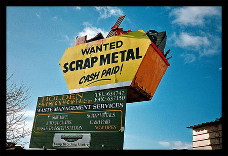 Image about scrap metal