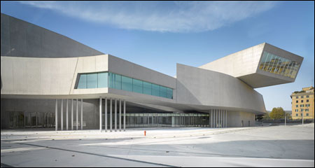 Tale Of Two Art Amp Design Museums Maxxi Amp Holon Steel