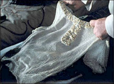 Image of the shirt of mithril from the movie The Lord of the Rings: The Fellowship of the Ring.
