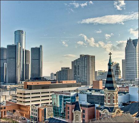 Detroit photographed by Jim Hunt
