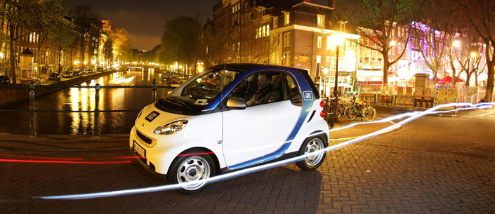 Daimler S All Electric Car Share Program Takes Over Amsterdam S