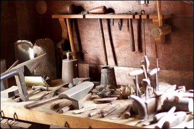 Blacksmith Shop photographed by Niall Kennedy