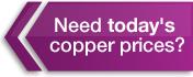 today's copper prices - MetalMiner IndX