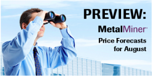 PREVIEW: MetalMiner Price Forecasts for August webinar