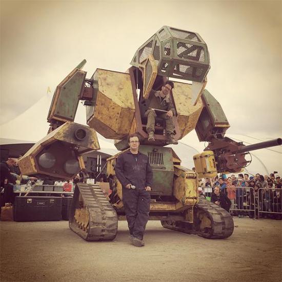 Megabot MKII