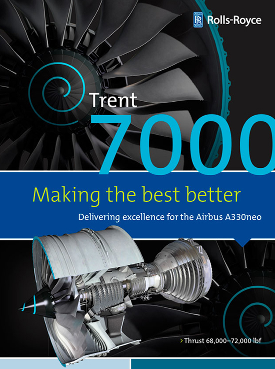 Trent 7000 infographic.indd