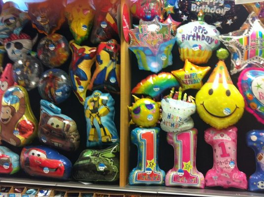 party city mylar balloons
