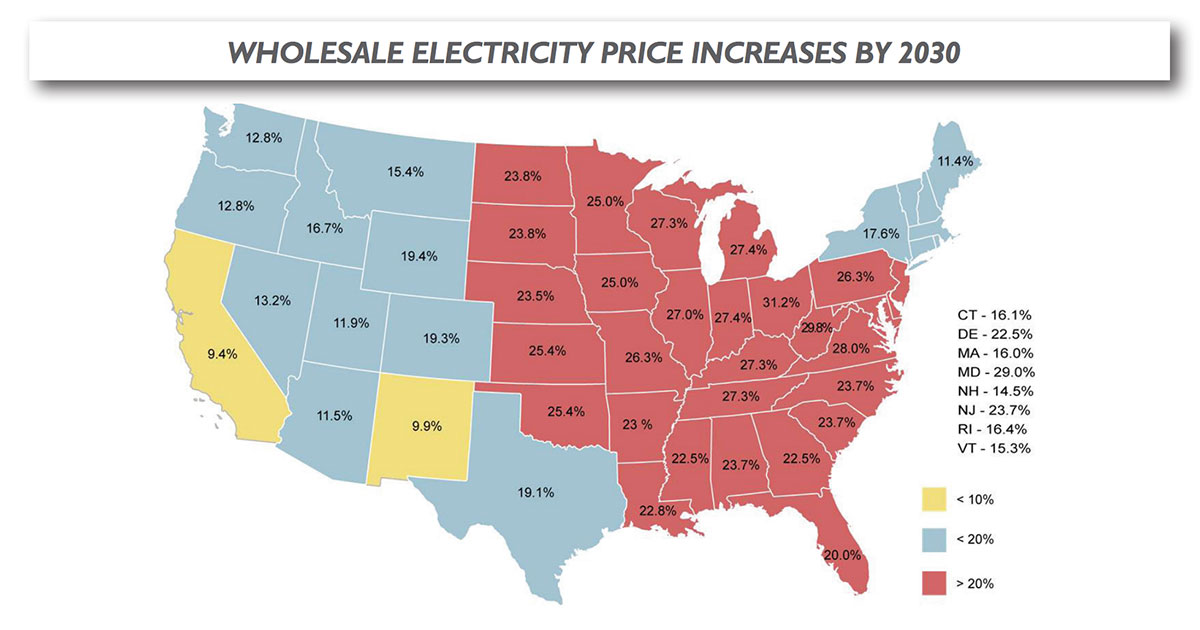 Source: Energy Ventures Analysis