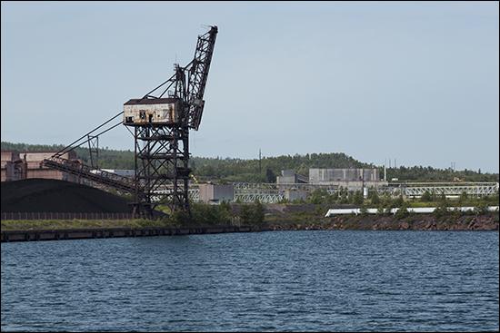 Minnesota Iron Ore Ship Loader