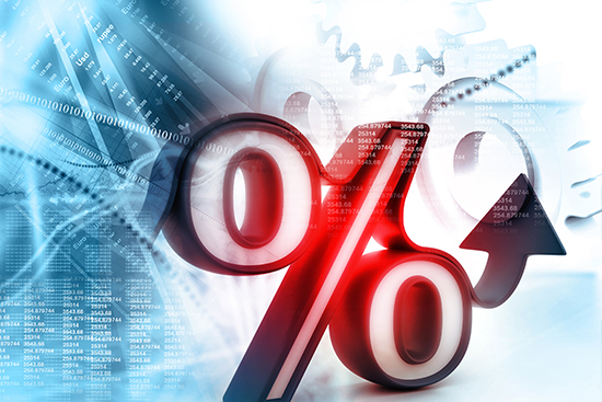 Interest rates are finally rising. Source: Adobe Stock/hywards.