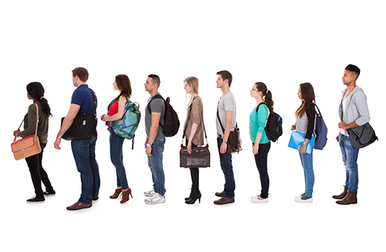 In Venezuela products are so scarce you could get a job standing in line. Source: Adobe Stock/Andrey Popov.