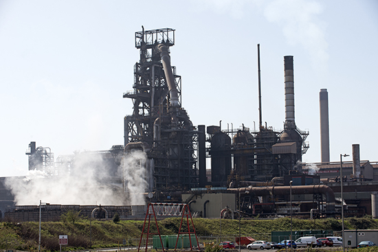 This steel plant at Port Talbot in South Wales, U.K., could close if Tata Steel can't find a buyer. Even as steel prices increased last week. Source: Adobe Stock/Petert2
