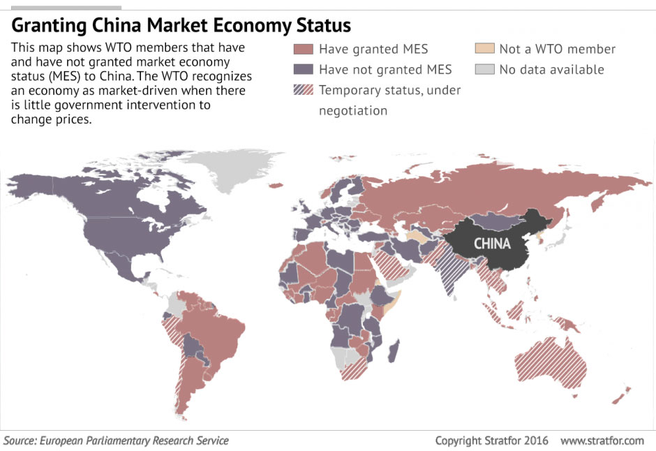 multicolor map china market economy status