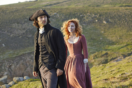 Poldark: Courtesy of PBS/Masterpiece.
