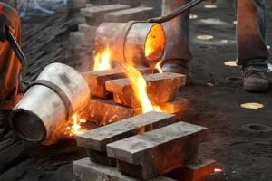 Liquid Molten Steel Industry