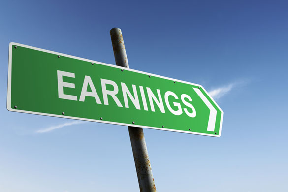 earnings sign