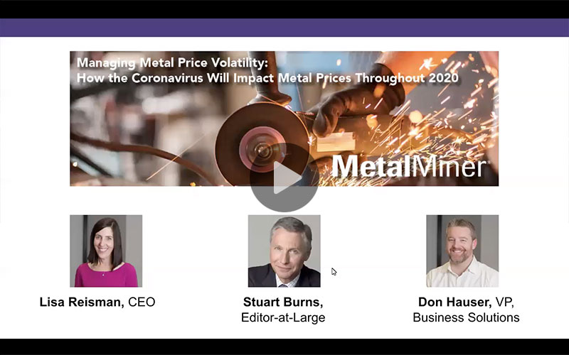 Managing Metal Price Volatility: How the Coronavirus Will Impact Metal Prices Throughout 2020 slide image