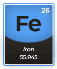 Periodic Table Iron Fe
