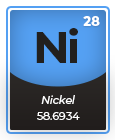Periodic Table Nickel Ni