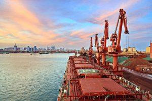 bulk cargo iron ore