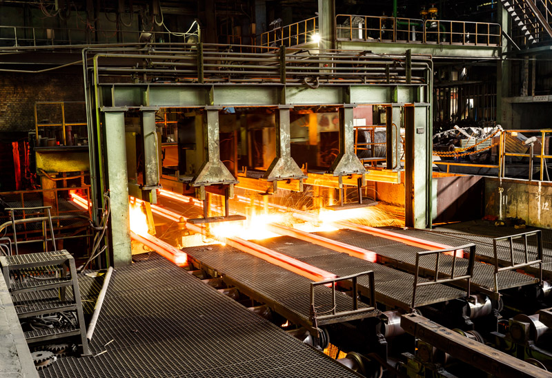 China story steel production