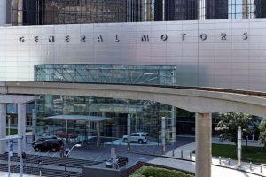 General Motors headquarters in Detroit, Michigan