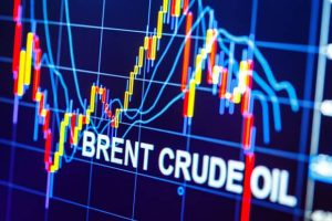 Brent crude oil price chart