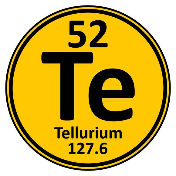 Tellurium element icon