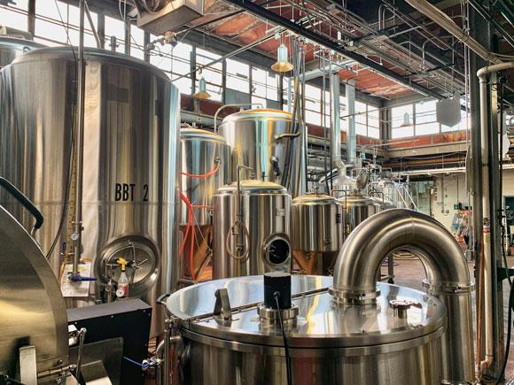 Temperance Beer Co. brewery in Evanston