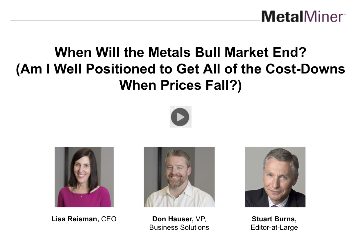 When Will the Bull Market End? (Am I Well Positioned to Get All of the Cost-Downs?) slide image