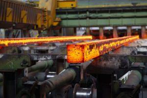 steelmaking in an EAF