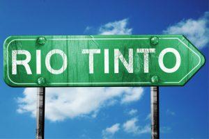 Rio Tinto sign