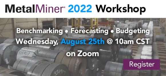 MetalMiner Forecasting Workshop details
