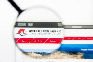 China Molybdenum website logo